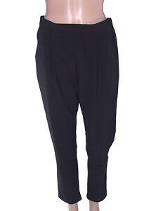 motivi pantalone pants donna nero affusolato s / m small medium