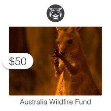 $50 Charitable Donation For: Australia Wildfire Fund