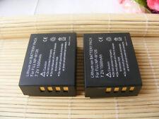 2X Battery NP-W126 NPW126S for Fujifilm Fuji X-T20 X100F X-T100 X-2100