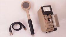 Ludlum Model 14 Geiger Meter With 44 9 Pancake Detector Count Ratesurvey