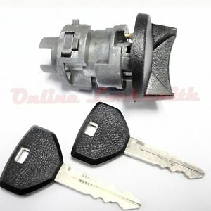New Ignition Switch Cylinder For Chrysler Dodge Plymouth 90-94 Coded w Two Keys