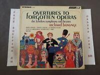 OVERTURES TO FORGOTTEN OPERAS RICHARD BONYNGE 1966 LONDON STEREO LP CS 6486