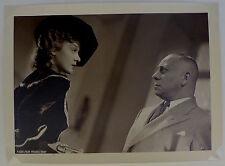 Edwige Feuillère Erich Von Stroheim - Tirage argentique d'époque - 1936 -