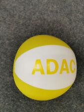 Wasserball gelb weiß 33 cm Wasser Ball ADAC