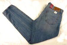 $70 New Mens LEVIS 511 SLIM Jeans 34 x 32 VINTAGE Blue Rinse skinny denim (1853)