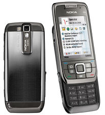 Nokia E66  Grey Steel Unlocked 3G WiFi Cellphone free shipping