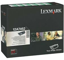 ORIGINAL TONER LEXMARK 12A7462 NOIR - 21000 pages - Vendu Avec Facture