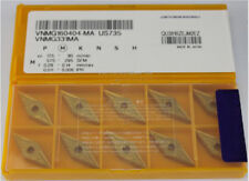 10pcs VNMG160404 -MA US735 VNMG331 carbide insert FOR  steel/cast iro