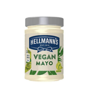 Hellmann's Vegan Mayonnaise. Egg free