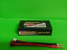 VANT 2s 7.6V 5600mah 100c HV Shorty Lipo Battery with Deans GENS ACE ORION REEDY