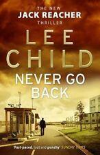 Never Go Back by Lee Child (Paperback, 2014)