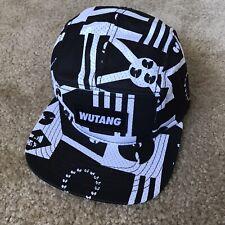 Wu-Tang Hat Rare 5 Panel Cap Rza Gza Raekwon