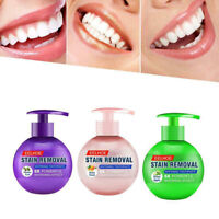 Intensive Stain Removal Teeth Whitening Toothpaste Fight Bleeding Gums 220g