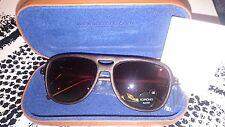 Braun / MAHOGANY WOOD Sonnenbrille von KOMONO Modell Rafton