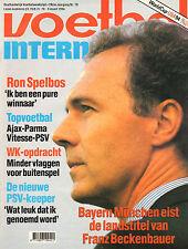 V.I. 1994 nr. 10 - BECKENBAUER/ANDERLECHT/AJAX-PARMA/MARCO BOOGERS