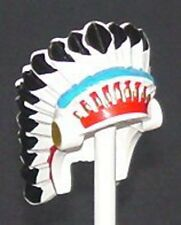 LEGO - Minifig, Headgear Headdress w/ Colored Feathers - Indian Chief