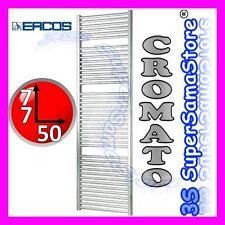 3S NUOVO SCALDASALVIETTE TERMOARREDO CROMO CROMATO CALORIFERO BAGNO H 77 x L 50