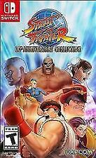 Street Fighter 30th Anniversary Collection (Nintendo Switch, 2018)