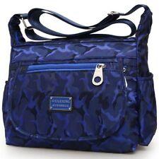 Women Lady Waterproof Nylon Single-shoulder Messenger Crossbody Bag Purse Travel