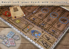 CLEARANCE SALE! GWENT card game suplement - collector's game board - The Witcher