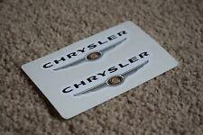 CHRYSLER Racing Motorsport Race Rally Car Race Decals Stickers Logo Badge 100mm