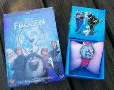 Frozen (DVD, 2014) BRAND NEW W/ SLIPCOVER + BONUS FROZEN WATCH IN GIFT BOX