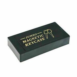 Large Magnetic Under Car Hide-a-Key Spare Key Hider Holder Safe Case Black
