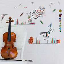 Stunning Removable Vinyl Wall Stickers - Dynamic Dancers Music 60x90 JM7093