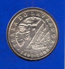 Portugal 2000 Terra do Lavrador 200 escudos coin – presentation card