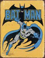 Batman Comic Super Hero DC Marvel Retro Man Cave Garage Wall Decor Metal Sign
