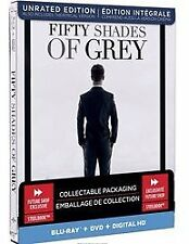 NEW Fifty Shades of Grey Blu ray Collectible Steelbook FREE SHIPPING
