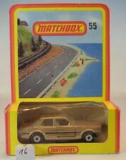 Matchbox Superfast Nr. 55 Ford Cortina braunmetallic Deutsche Hösbach OVP #016