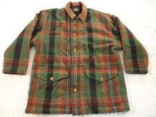 Men's Wool Robert Lighton British Khaki Button Zip Up Coat  (Medium) nc1