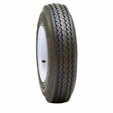 "UTILITY BOAT TRAILER TIRE & WHEEL ASSEMBLY  15"" 5X4.5  WHITE SPOKE 225/75D15"