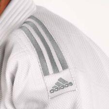 Adidas Millenium 990 White/Silver Slim Fit Judo Suit 175cm~Kimono Millennium Gi