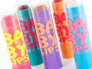 Maybelline Baby Lips Lip Balm NEW Choose Your Flavour - 8hr Moisture - Carded