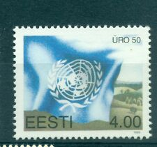 BANDIERE & EMBLEMI - FLAG & EMBLEM ESTONIA 1995 UNO 50th Anniversary