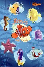 Nemo's best friends Disney poster