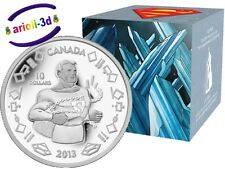 2013 - 75th anniversary of Superman Vintage Silver Coins Royal Canadian Mint NEW