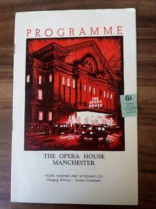PROGRAMME THE OPERA HOUSE MANCHESTER, 1953 ''THE BAD SAMARITAN''