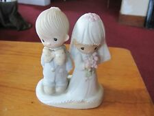 "Precious Moments ""The Lord Bless You and Keep You"" 1979 No Mark Cake Topper"