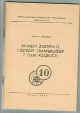 Bogumil Sikorski, Notmünzen von Strassenbahnen (Tram).