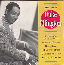 DUKE ELLINGTON The Great CD - New