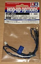 Tamiya 54012 LED Light (5mm Blue) (Use with TLU-01 & TLU-02), NIP