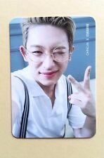 MONSTA X PICNIC IN MONBEBE WORLD FANMEETING OFFICIAL PHOTO CARD Photocard Wonho