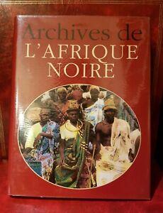 Archiv aus Afrika Schwarz