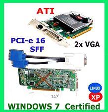 Dell Optiplex Inspiron Vostro ATI HD Video Card. Drive rCD. 2xVGA Cable. SFF