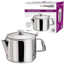 Prima Stainless Steel Tea Coffee Pot Flip Lid 16oz 24oz 32oz Tea Pot