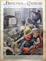 La Domenica del Corriere 8 Marzo 1959 Macmillan Eigerwand Longo Leucemia Lincoln