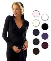 Abito vestito lana manica Lunga Sensì Made in Italy nero viola grigio prugna